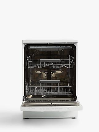 John Lewis & Partners JLDWW1429 Freestanding Dishwasher, White