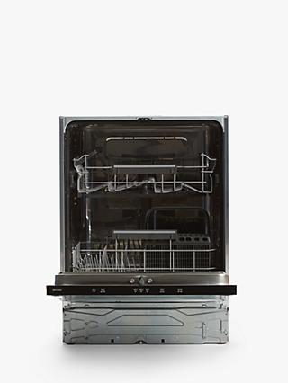John Lewis & Partners JLBIDW1319 Integrated Dishwasher, A++ Energy Rating