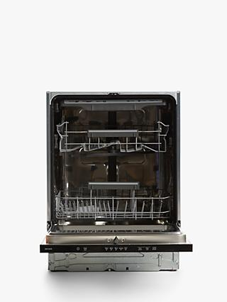 John Lewis & Partners JLBIDW1419 Integrated Dishwasher, White