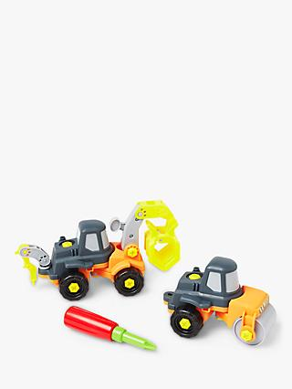 John Lewis & Partners Build It Construction Vehicle Set
