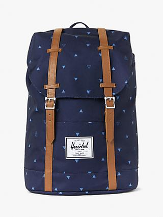 Herschel Supply Co. Retreat Geometric Print Backpack, Peacoat