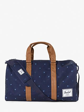 Herschel Supply Co. Novel Geometric Print Holdall, Peacoat