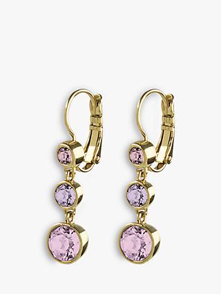 8acc427b9bb7 DYRBERG KERN Chia Swarovski Crystal Drop Earrings