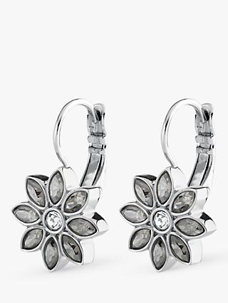 40cc5041480a DYRBERG KERN Lotus Flower Drop Earrings