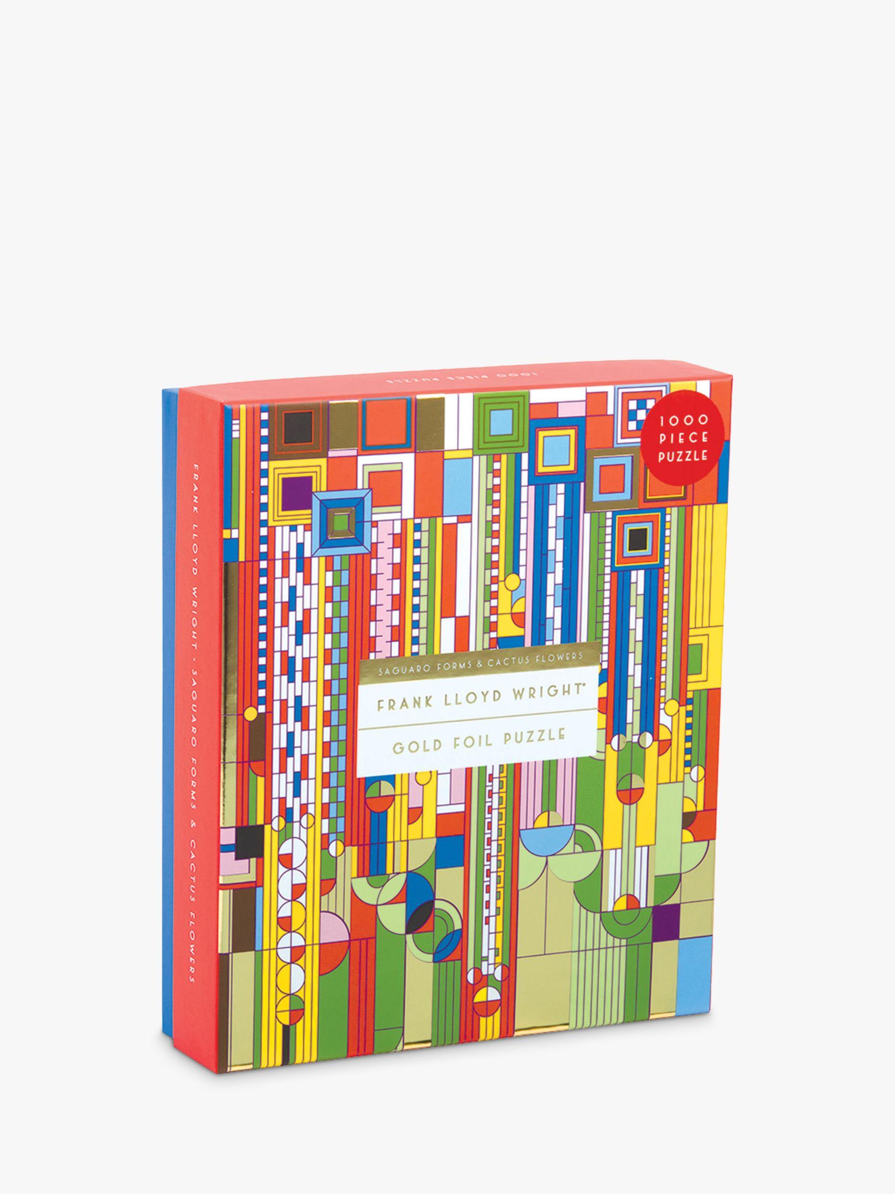 Galison Galison Frank LLoyd Wright Jigsaw Puzzle, 1000 Pieces