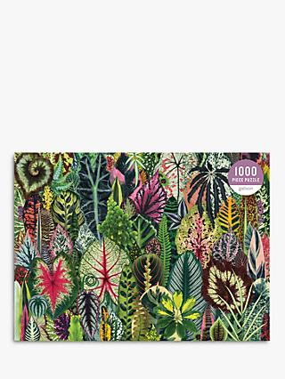 Galison Houseplant Jungle Jigsaw Puzzle, 1000 Pieces