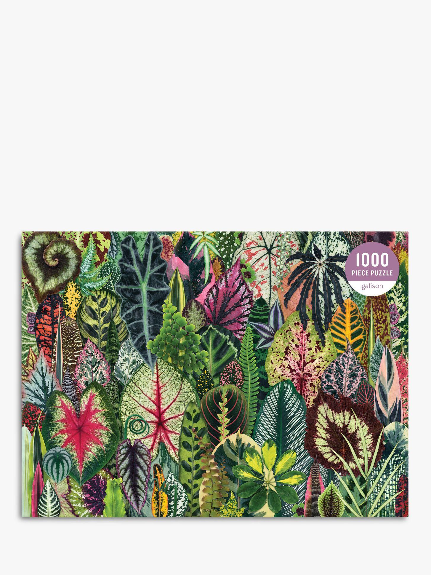 Galison Galison Houseplant Jungle Jigsaw Puzzle, 1000 Pieces