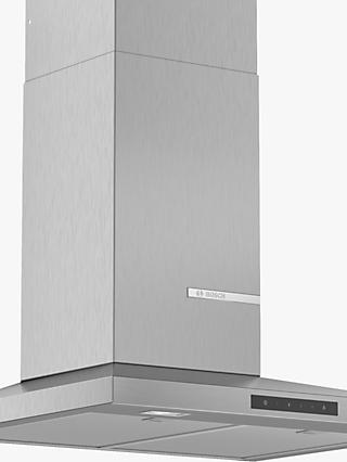 Bosch DWQ66DM50B 60cm Wall Mounted Cooker Hood, Stainless Steel