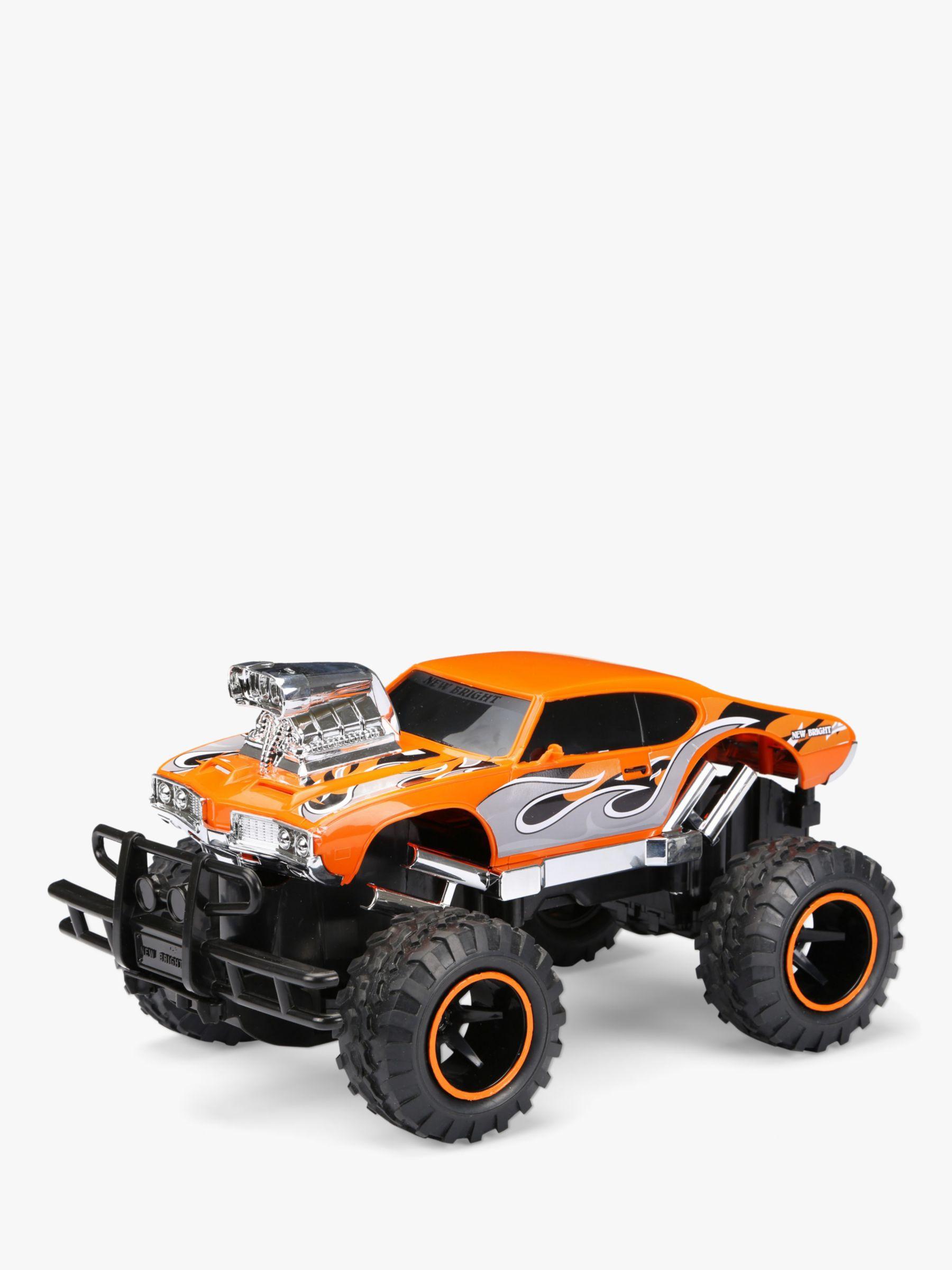 New Bright New Bright Radio-Controlled 1:15 Orange Mega Muscle Truck