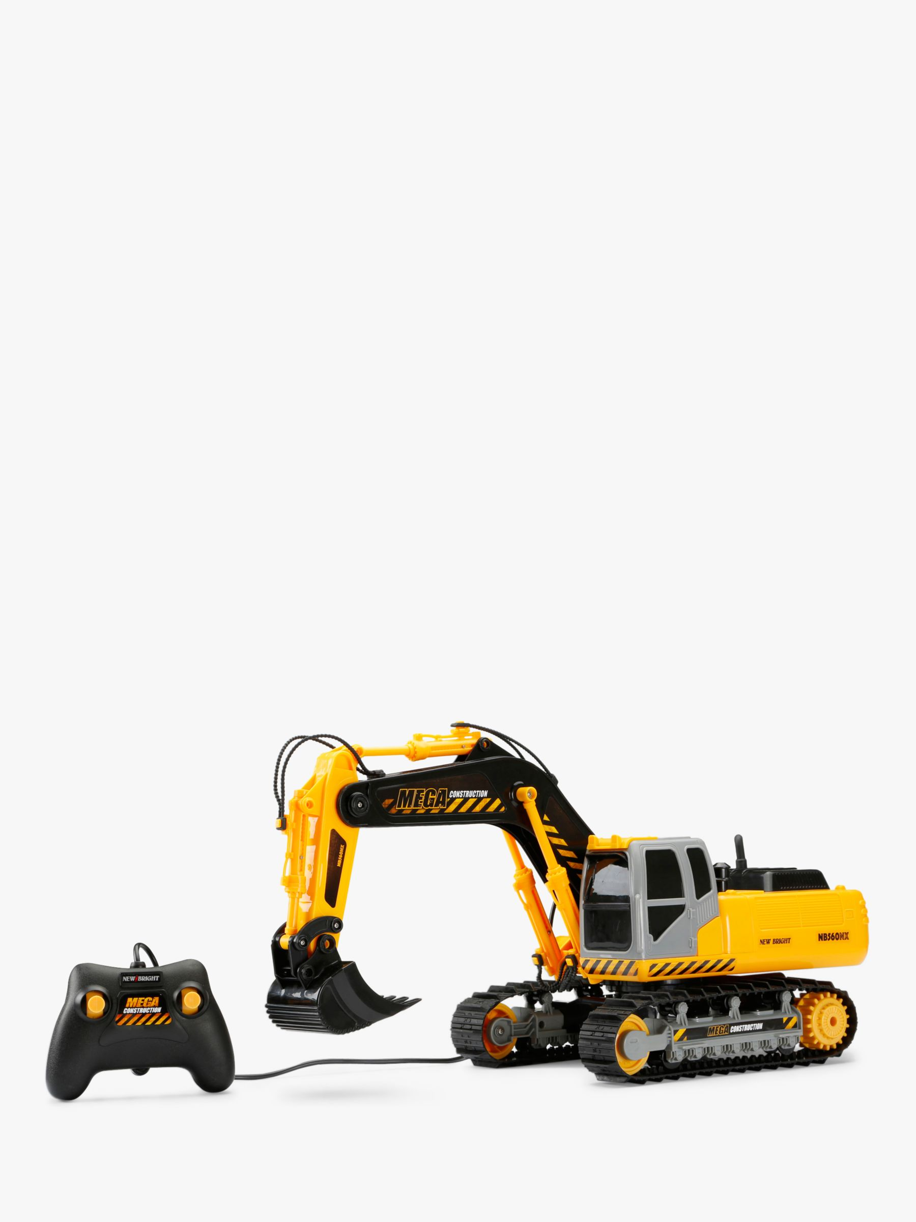 New Bright New Bright Remote Control Mega Excavator