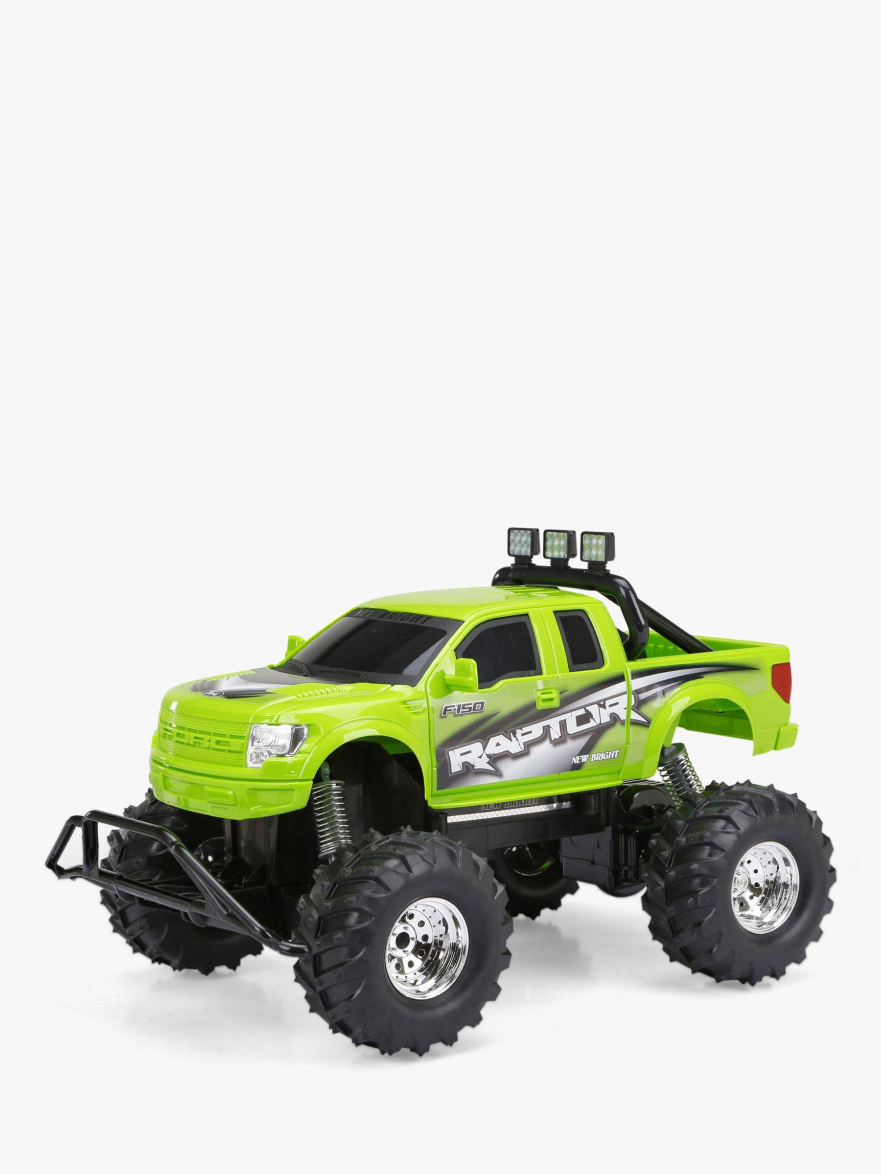 New Bright New Bright Radio-Controlled 4x4 Raptor Truck