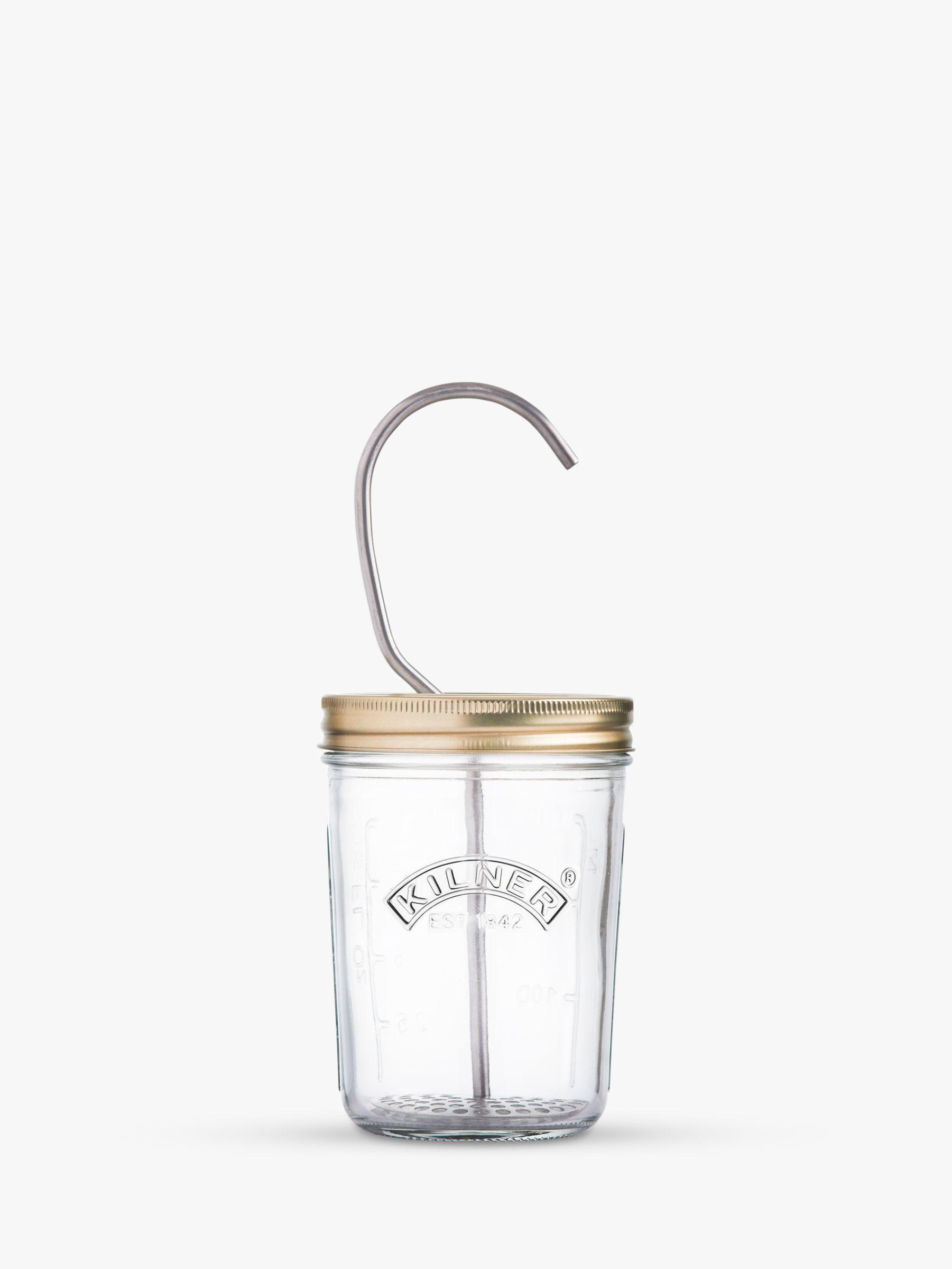 Kilner Kilner Mayonnaise and Saucer Glass Jar Set, 350ml, Clear