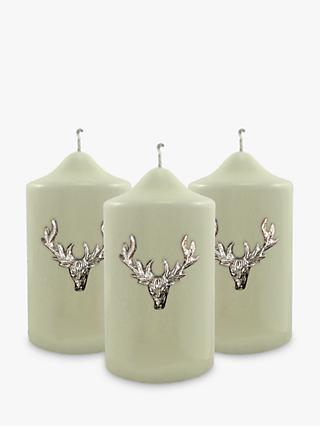 Culinary Concepts Stag Candle Pins, Small, Set of 3