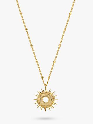 1499cd8556d Estella Bartlett Full Starburst Pendant Necklace, Gold