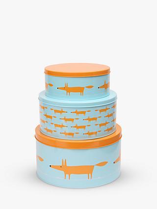 Home, Furniture & Diy Latest Set Of 3 Polka Dot Cake Tins Made Of Metal
