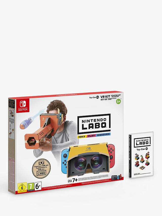 Image: Nintendo Labo VR Kit