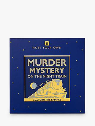 Talking Tables Train Murder Mystery Game