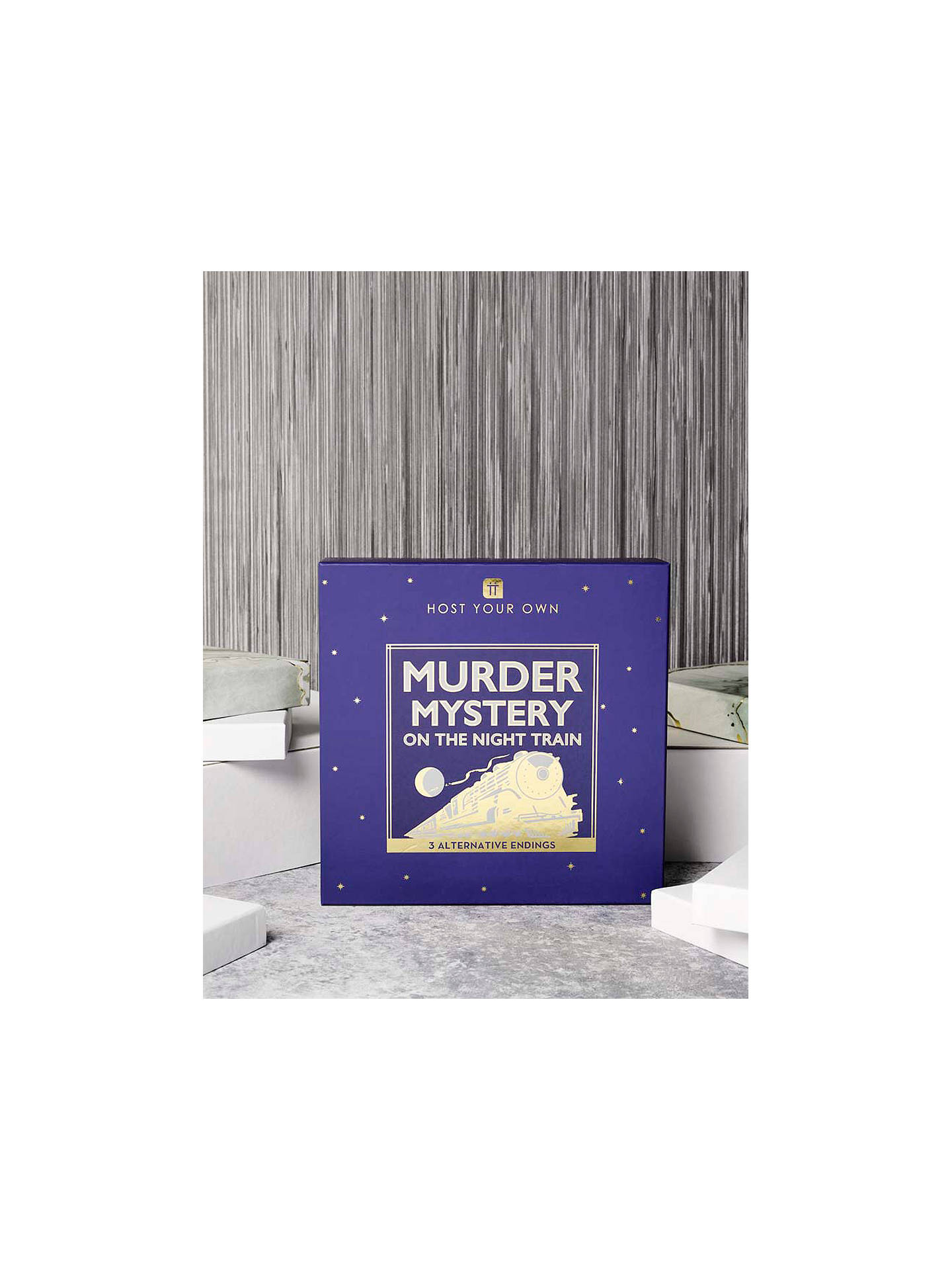 Buy Talking Tables Train Murder Mystery Game Online at johnlewis.com