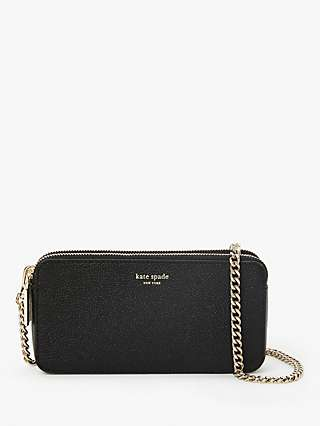 kate spade new york Margaux Leather Double Zip Mini Cross Body Bag