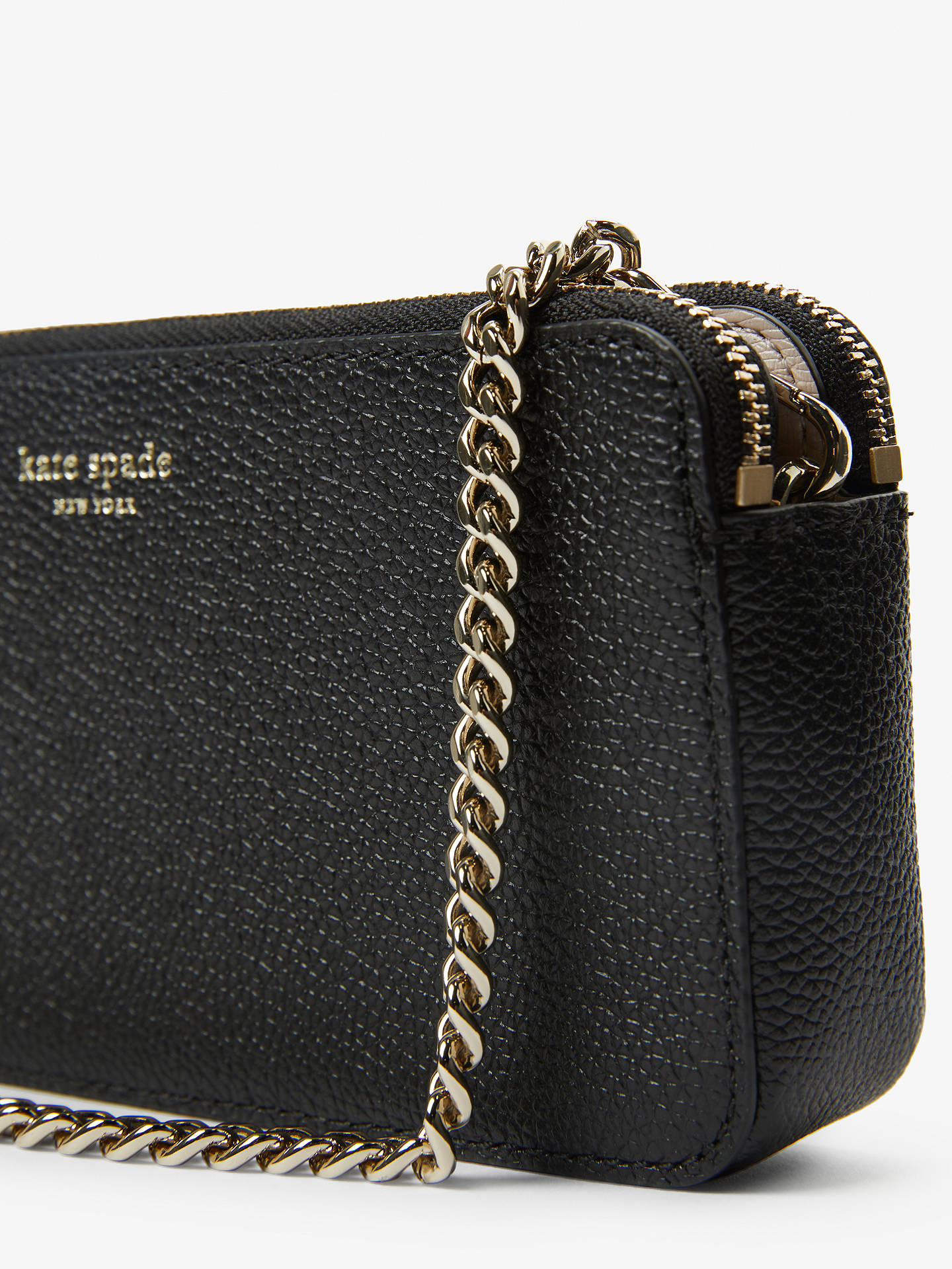 e592ffc88 ... Buy kate spade new york Margaux Leather Double Zip Mini Cross Body Bag,  Black Online