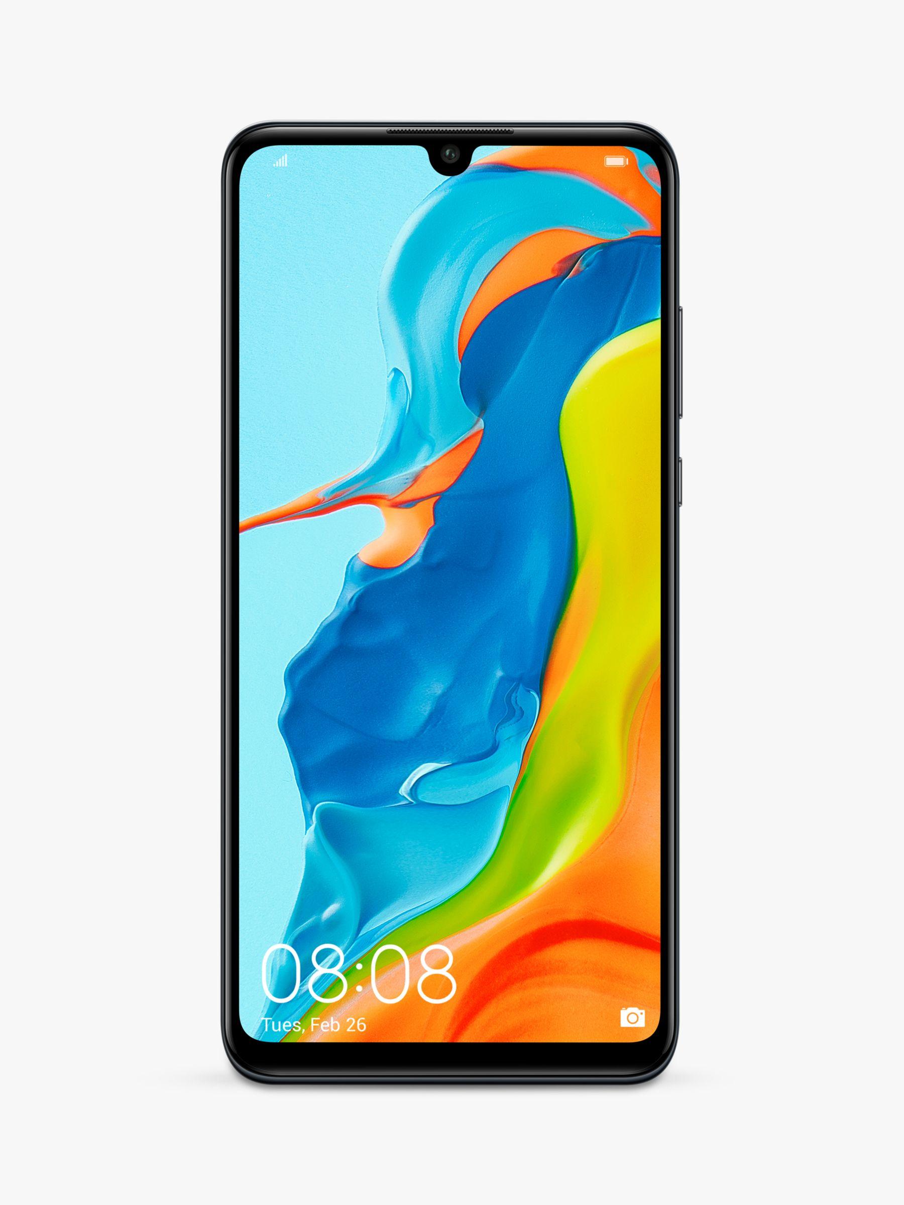 "Huawei Huawei P30 Lite Smartphone, Android, 4GB RAM, 6.15"", 4G LTE, SIM Free, 128GB"