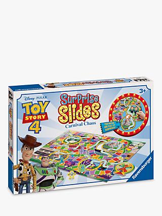 Disney Pixar Toy Story 4 Surprise Slides Carnival Chaos Board Game