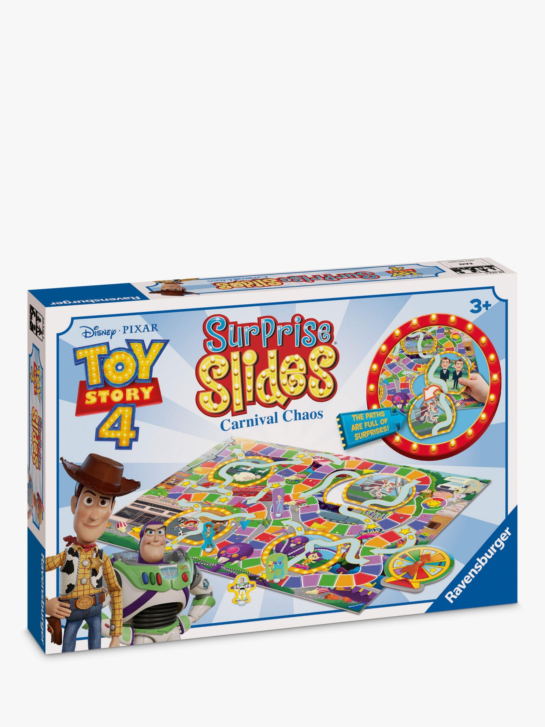 Disney Disney Pixar Toy Story 4 Surprise Slides Carnival Chaos Board Game