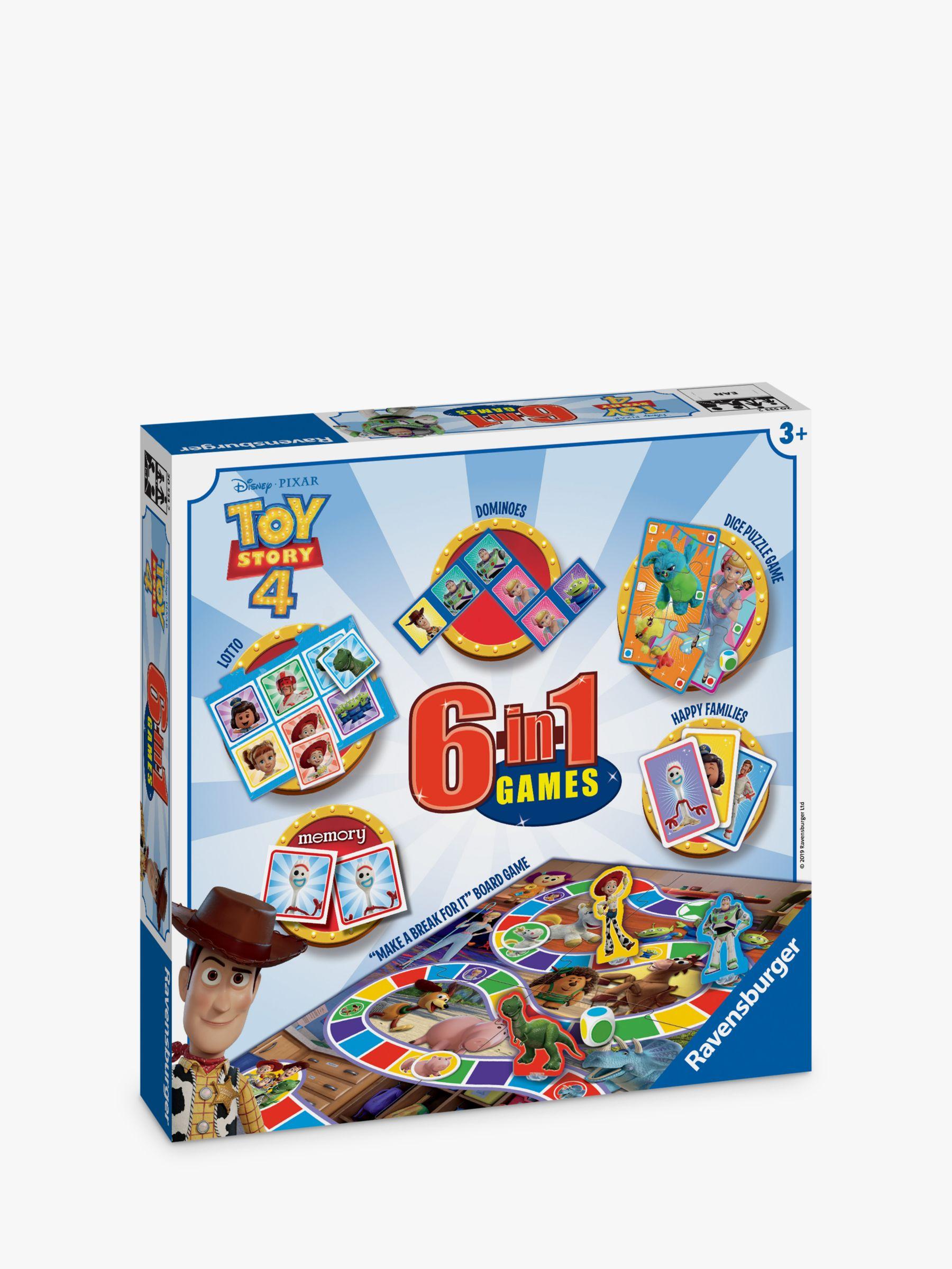 Ravensburger Ravensburger Disney Pixar Toy Story 4 6-in-1 Board Game
