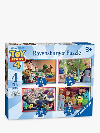 Ravensburger Toy Story 4 4 in a Box Jigsaw Puzzle