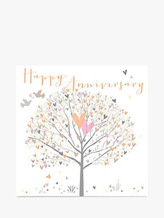 Belly Button Designs Tree Anniversary Card