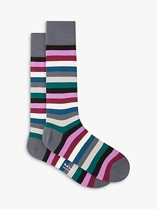 Popular Brand Match-up Men Color Geometric Cotton Socks Art Patterned Casual Crew Socks 5-pack Shoe Size 6-12 Underwear & Sleepwears