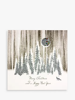 Five Dollar Shake Forest Christmas & New Year Card