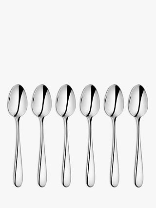 John Lewis & Partners Dome Coffee Spoons, Set of 6
