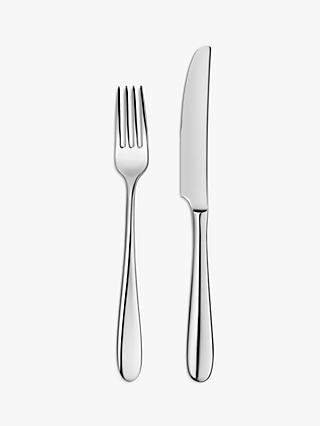John Lewis & Partners Dome Side Cutlery, 6 Place Settings