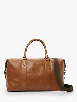 John Lewis & Partners Edinburgh Leather Holdall