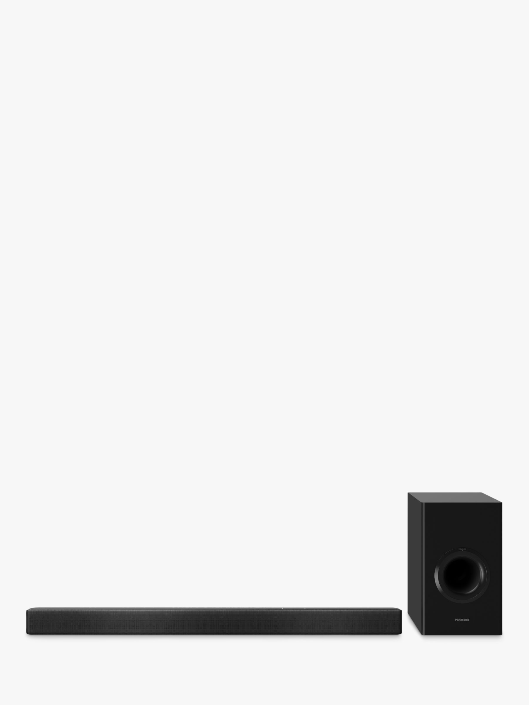 Panasonic Panasonic SC-HTB510 Bluetooth Wi-Fi Sound Bar with Wireless Subwoofer & Chromecast Built-in