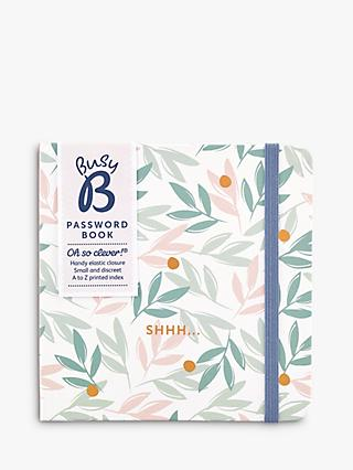 Busy B Breezy Blossoms Password Book