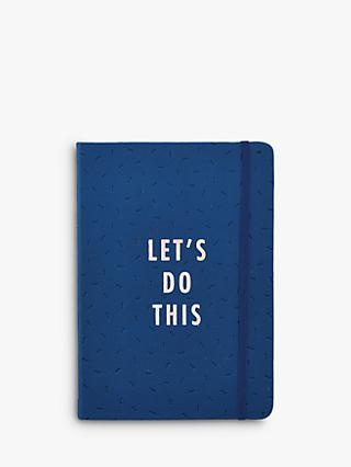 Busy B A5 Let's Do This Undated Planner
