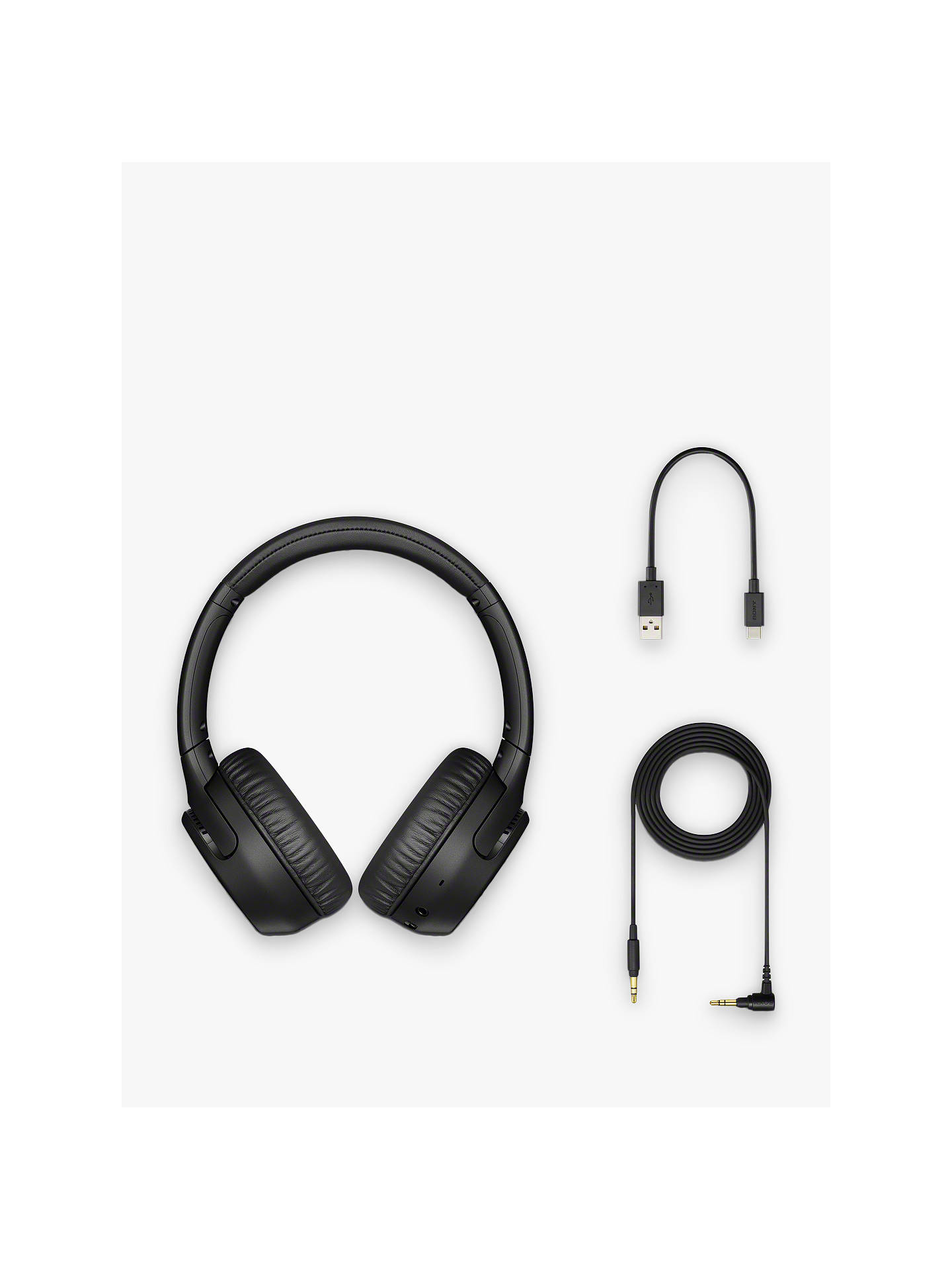 Buy Sony WH-XB700 Extra Bass Bluetooth NFC Wireless On-Ear Headphones with Mic/Remote, Black Online at johnlewis.com
