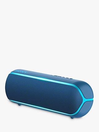 Sony SRS-XB22 Extra Bass Waterproof Bluetooth NFC Portable Speaker with Line Lighting