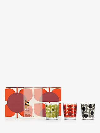 Orla Kiely Flower Scented Candle Gift Set