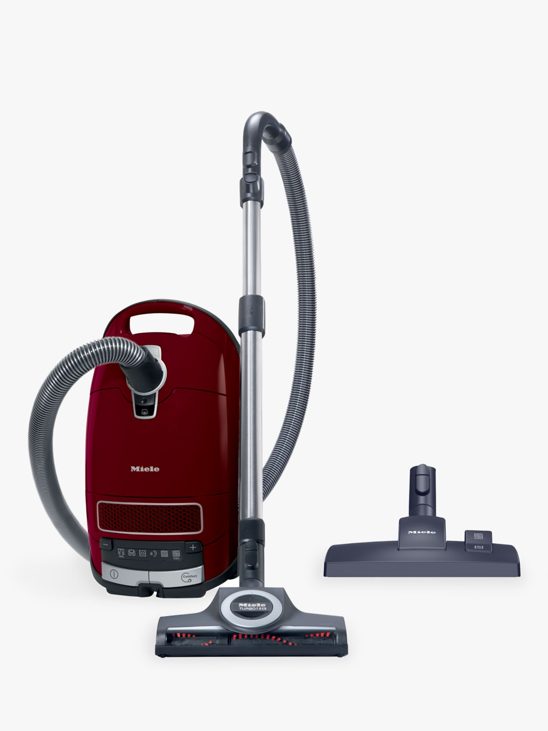 Miele Miele Complete C3 Cat and Dog Pro Vacuum Cleaner, Red