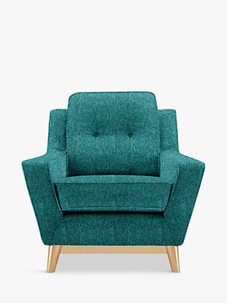 G Plan Vintage The Fifty Three Armchair, Piero Teal