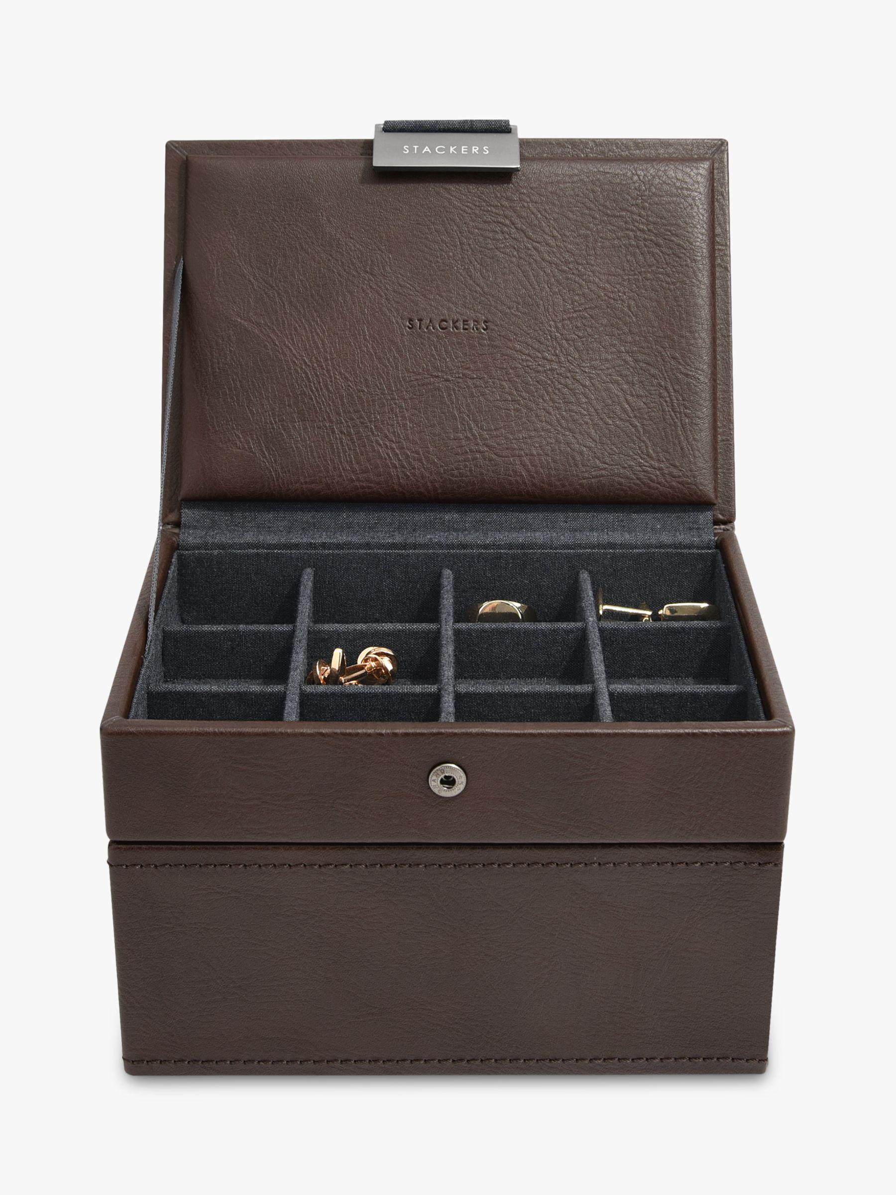 Stackers Stackers Men's Mini Watch & Cufflink Box