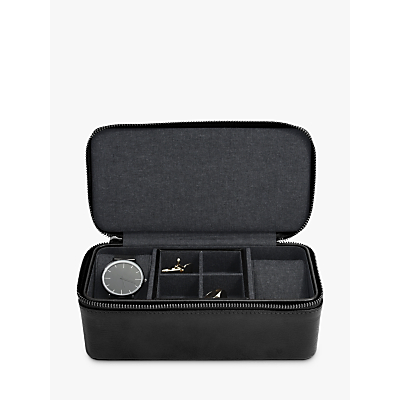 Stackers Men's Zip Watch & Cufflink Box