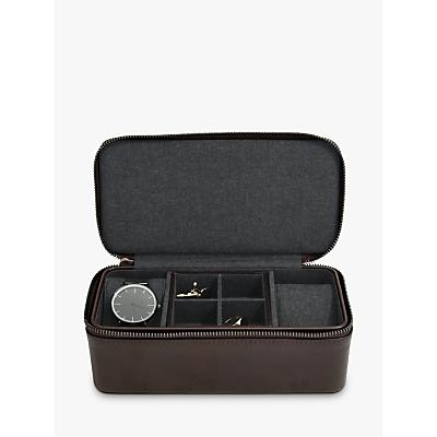 Stackers Men's Zip Watch & Cufflink Box