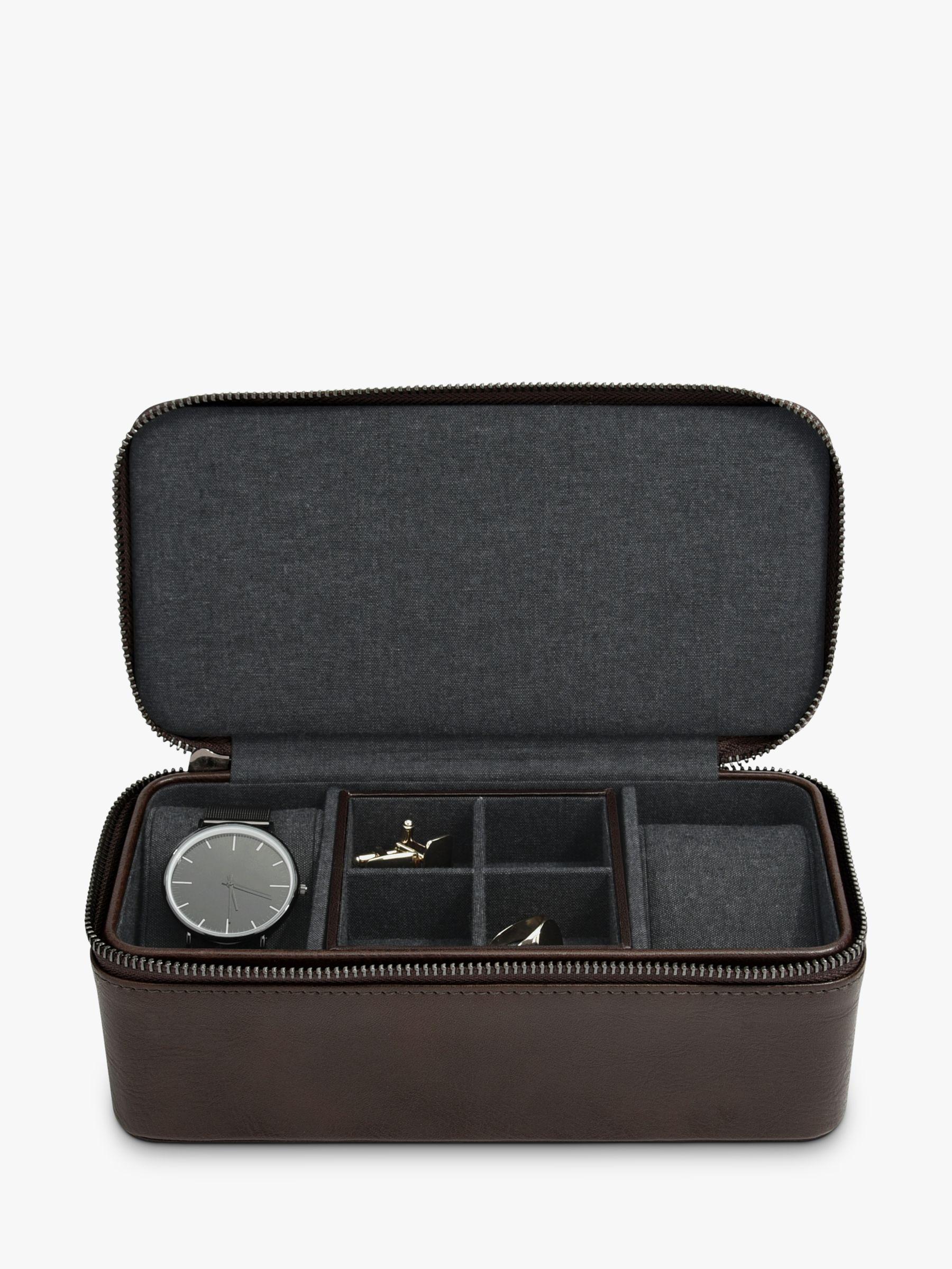 Stackers Stackers Men's Zip Watch & Cufflink Box