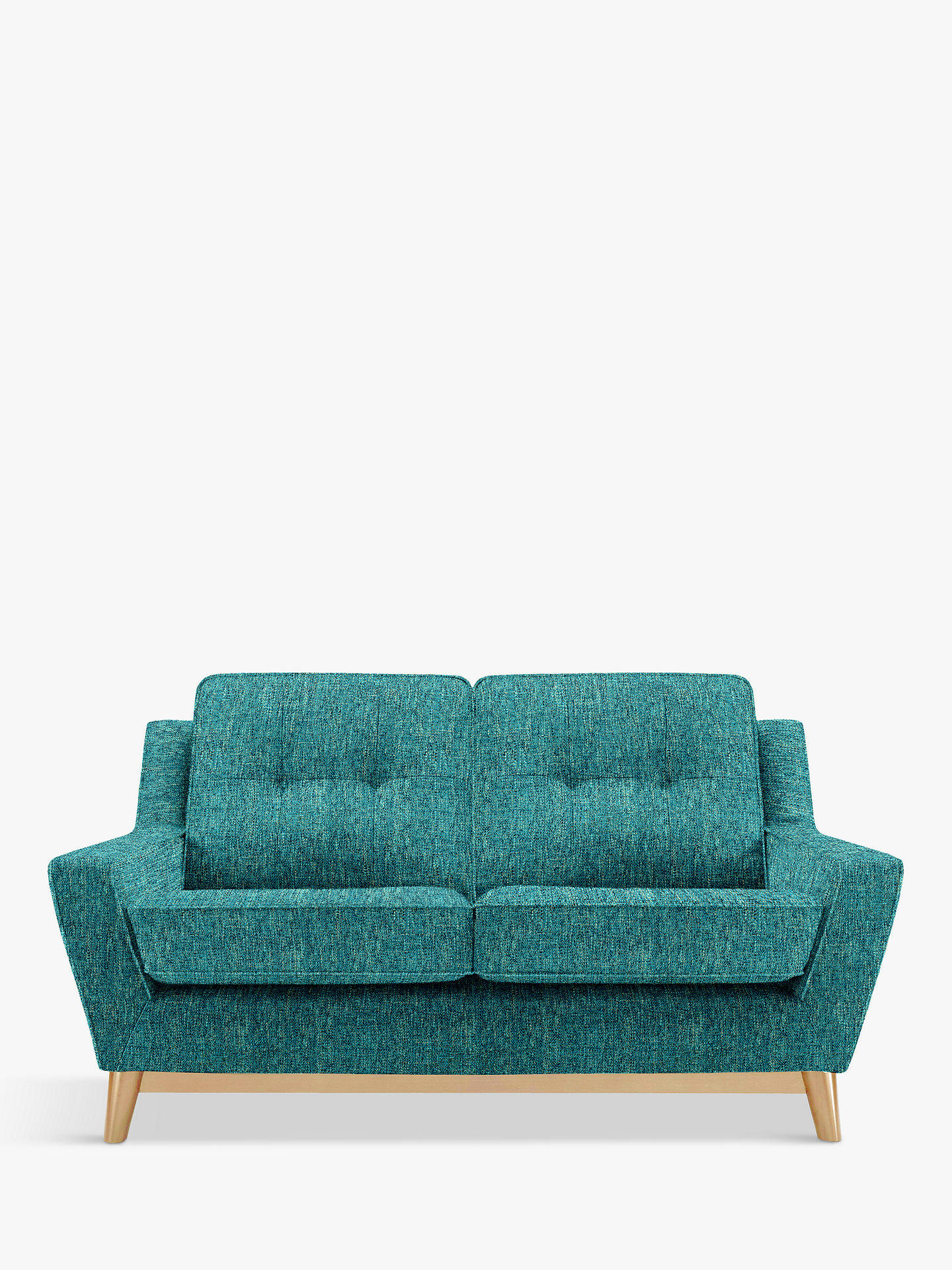 Miraculous G Plan Vintage The Fifty Three Small 2 Seater Sofa Piero Teal Theyellowbook Wood Chair Design Ideas Theyellowbookinfo