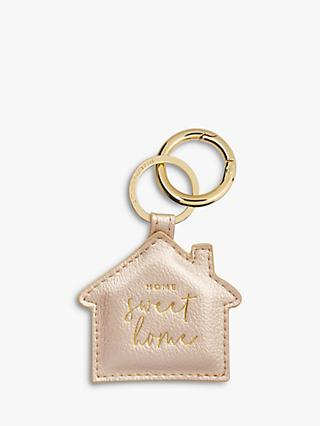 Katie Loxton Home Sweet Home House Keyring
