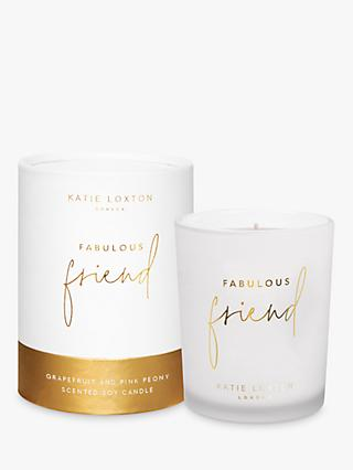 Katie Loxton Fabulous Friend Scented Candle, 337g
